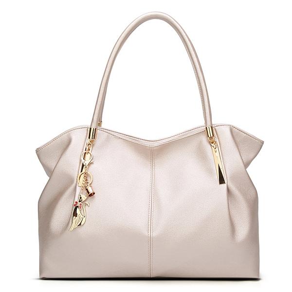 歐美時尚女生托特包 女款簡約百搭托特包 大容量女包大包 大氣媽媽包手提包 女款單肩斜挎包