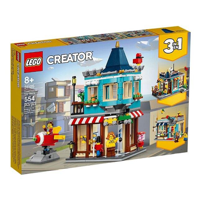 31105【LEGO 樂高積木】創意大師Creator系列-排屋玩具店