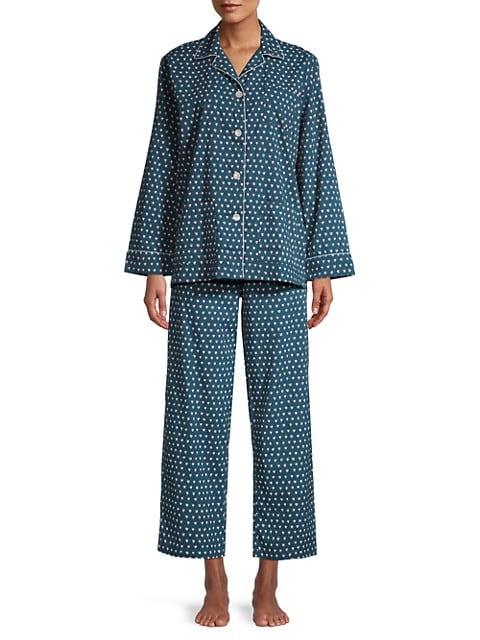 Hearts 2-Piece Pajama Set