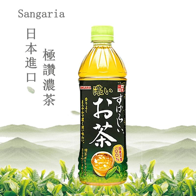 【Sangaria】日本極讚濃茶-濃郁厚茶清涼飲料500mlX24入
