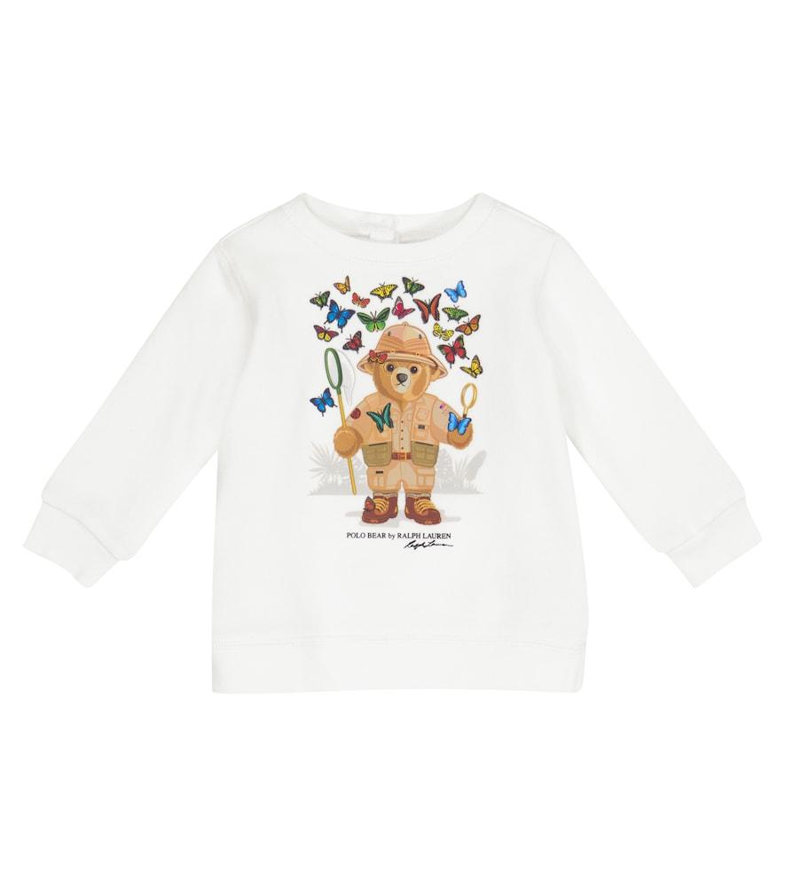 Baby Polo Bear cotton-blend sweatshirt