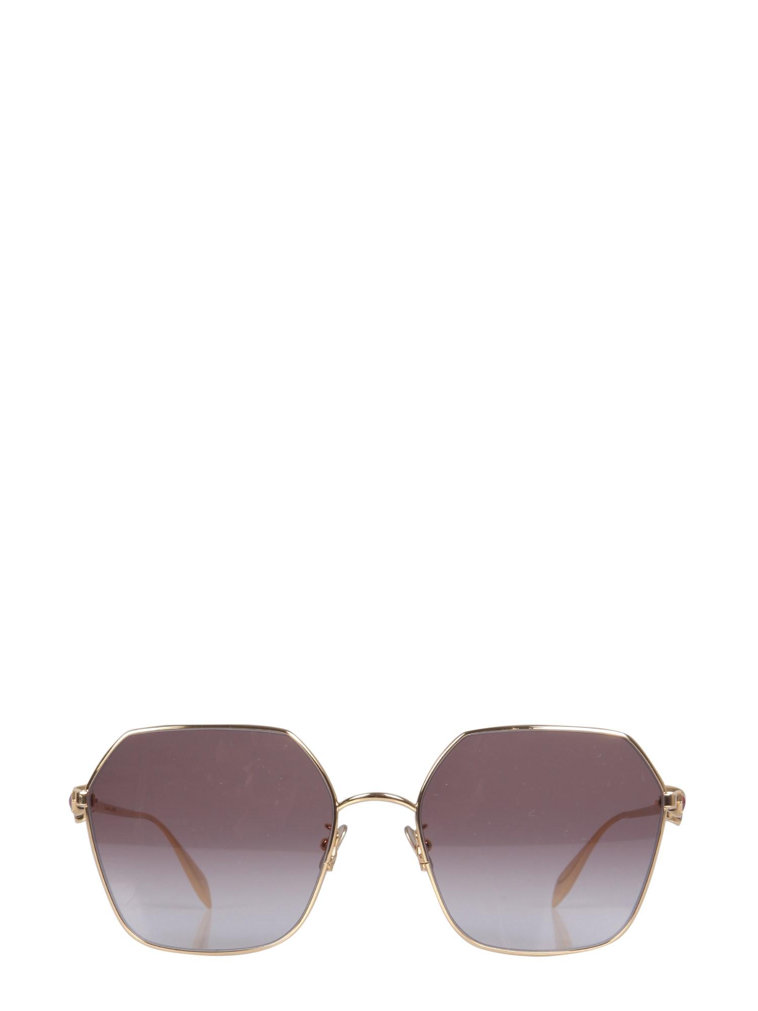 alexander mcqueen skull droplets sunglasses