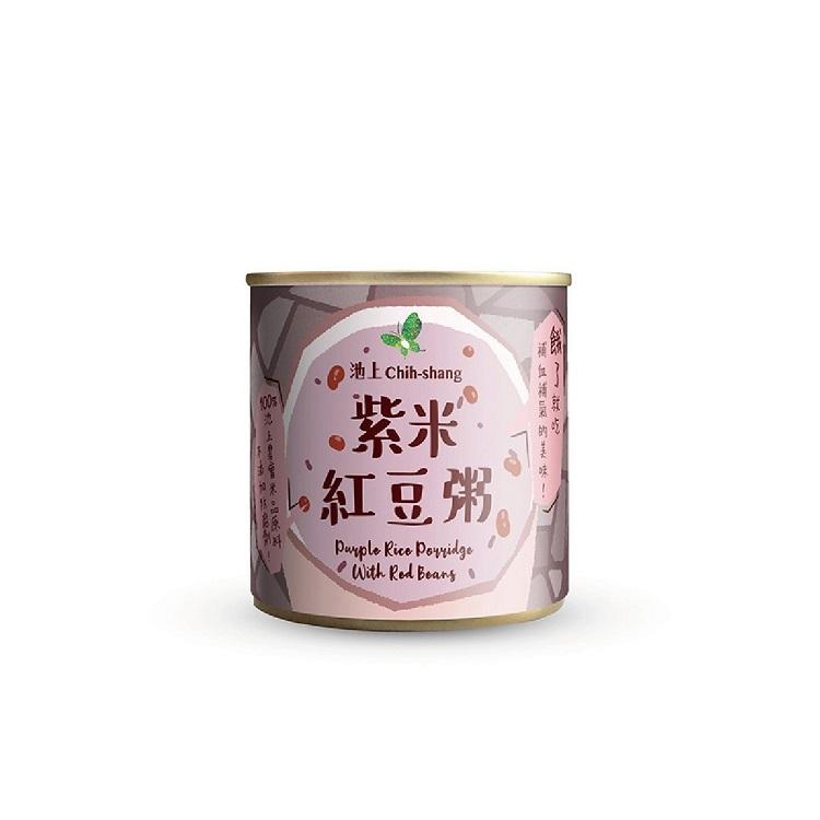 【池上鄉農會】松葉食品 台東池上即食粥-紫米紅豆粥 台灣製造
