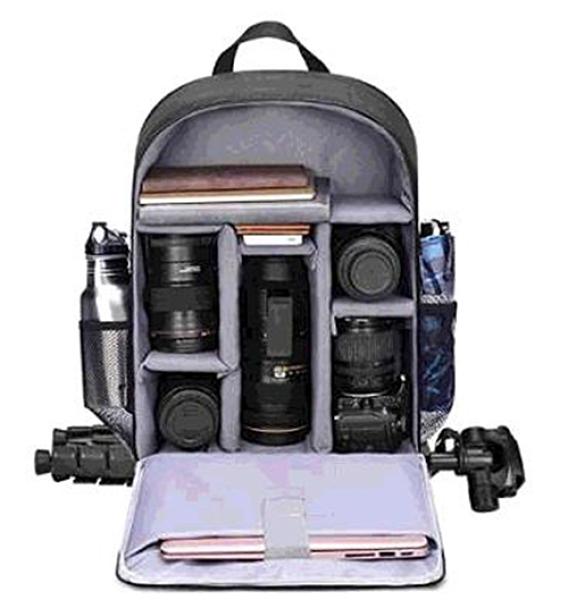 [2美國直購] CADeN 相機背包 專業適用 DSLR / SLR 無反光鏡相機 防水 相機保護套 藍色