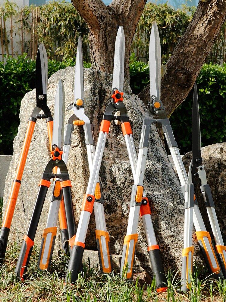 修剪樹枝剪刀園藝大剪刀園林強力粗枝果樹剪草坪綠化綠籬剪修花木
