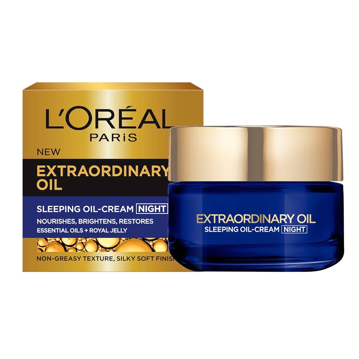 L'Oréal 欧莱雅 睡眠修复滋润精华油晚霜 50ml
