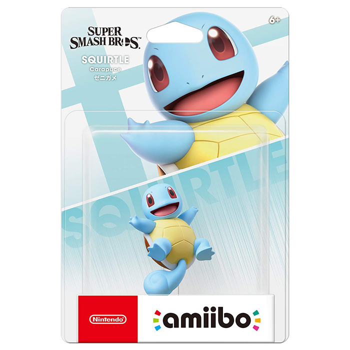 【amiibo】amiibo 傑尼龜(明星大亂鬥系列)