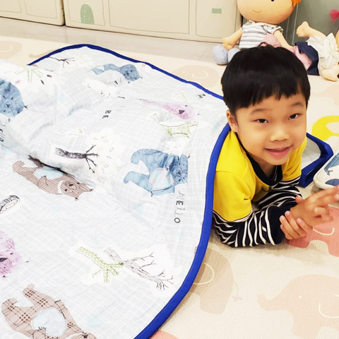 Little moni 兒童多用途四季涼感棉被(6款可選)