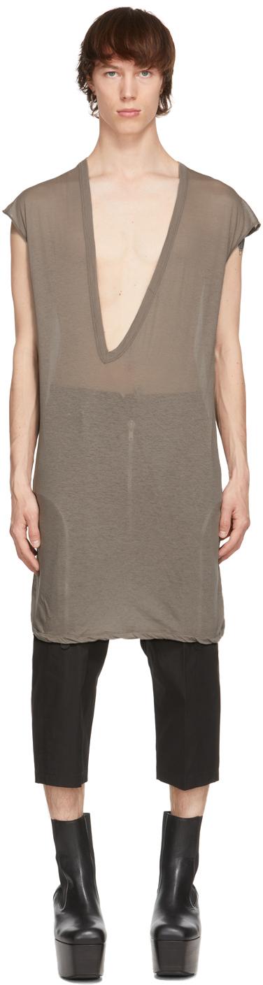 Rick Owens 灰褐色 Dylan T 恤