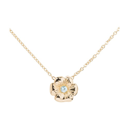 Bouquet topaz necklace
