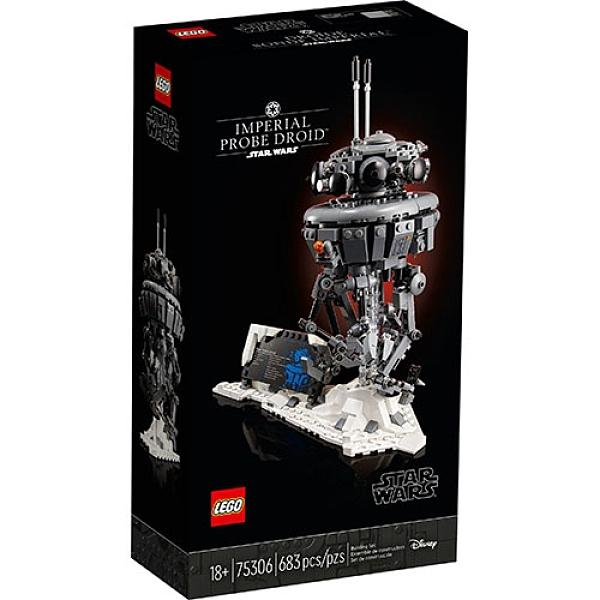 樂高積木LEGO《 LT75306 》STAR WARS™ 星際大戰系列 - Imperial Probe Droid™ / JOYBUS玩具百貨