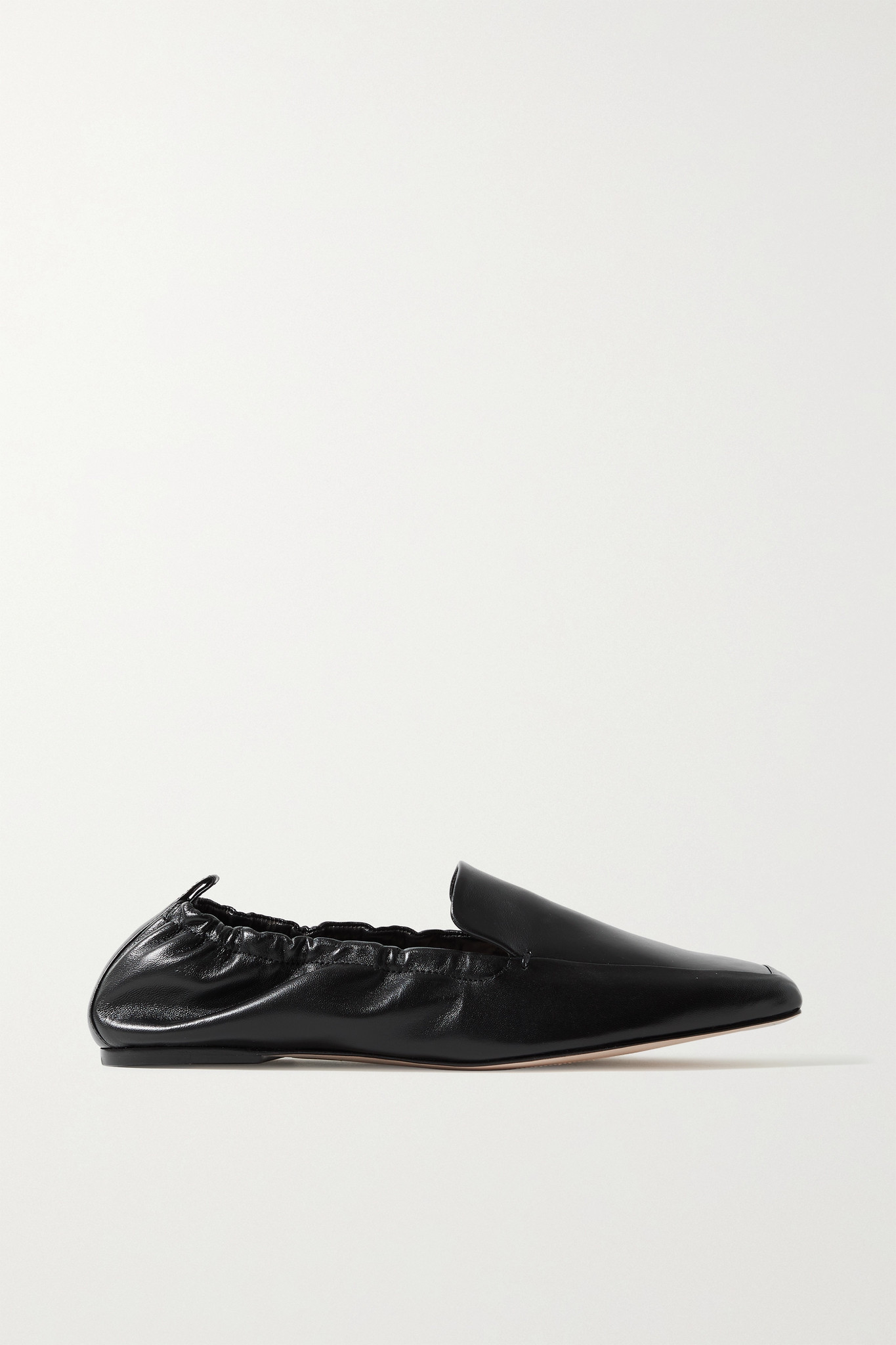 PORTE & PAIRE - Leather Loafers - Black - IT39