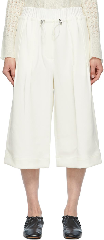 3.1 Phillip Lim 白色 Pull-On Culotte 短裤