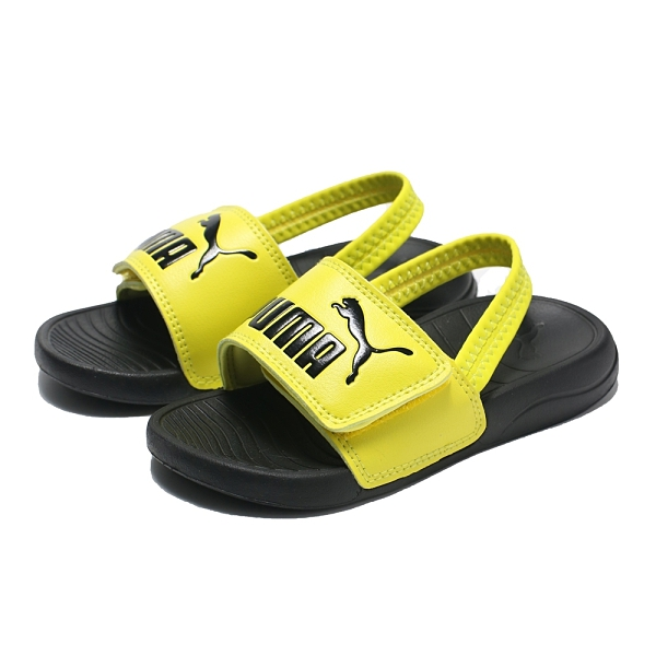 PUMA 童鞋 涼鞋 INFANT POPCAT 20 螢光黃 鬆緊 魔鬼氈 運動 小童(布魯克林) 37386207