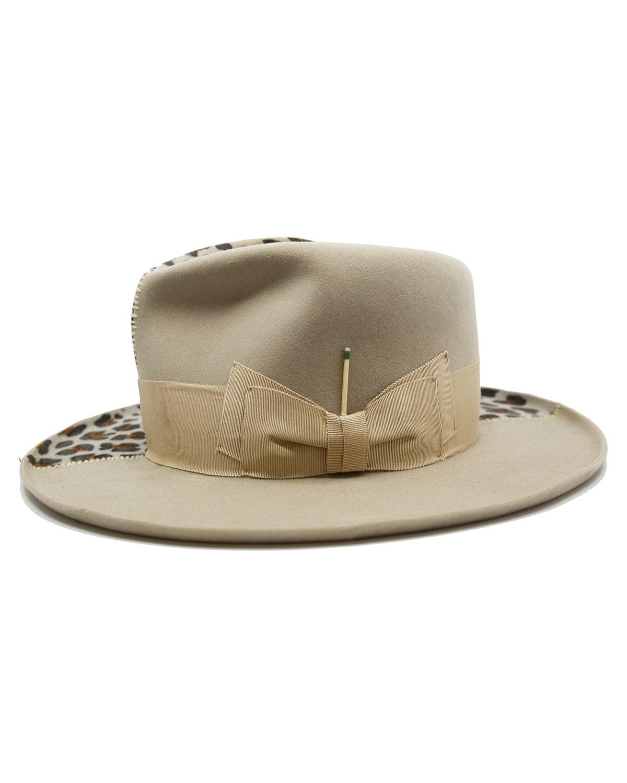 Jaguar Child Beaver Felt Hat