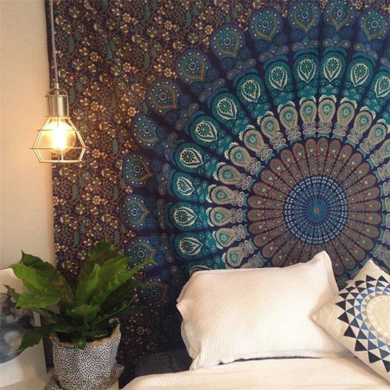 背景布 曼達拉掛布掛毯壁毯背景牆裝飾布沙發巾桌布瑜伽沙灘巾