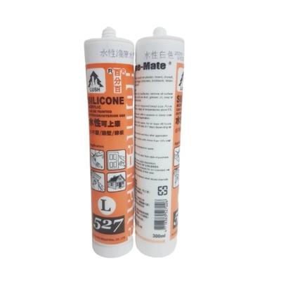 (黑咖啡) 樹牌水性矽利康 填縫膠 L527 矽力康 水性可上漆SILICON防水膠300ml台灣製