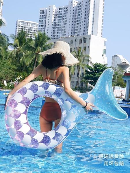 bestway游泳圈大人網紅成人女加厚大號便攜水上充氣玩具救生泳圈ATF 格蘭小鋪