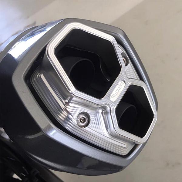 機車兄弟【RIDEA】KYMCO AK550 排氣管飾蓋 雙出尾管蓋