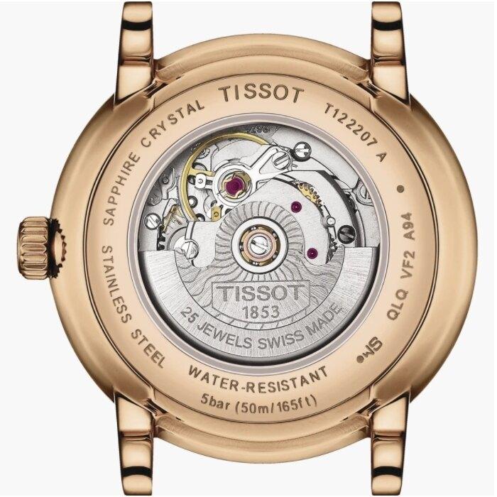 TISSOT天梭 T1222073603300 / 卡森系列女裝自動腕錶 / 30mm