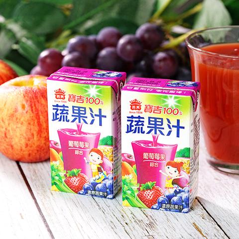 小寶吉蔬果汁-葡萄莓果(125ml*24入/箱)
