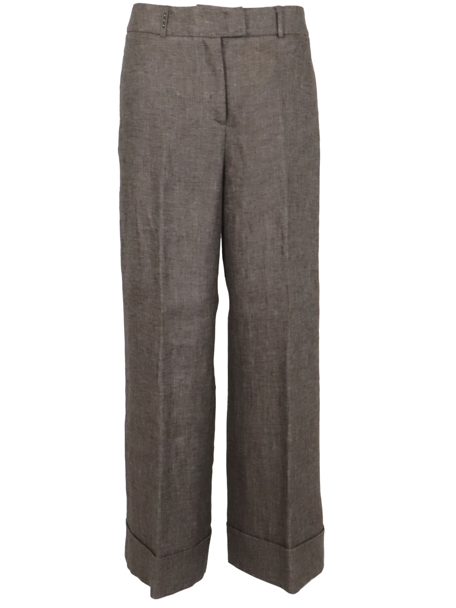 Peserico Wide Pants Trousers