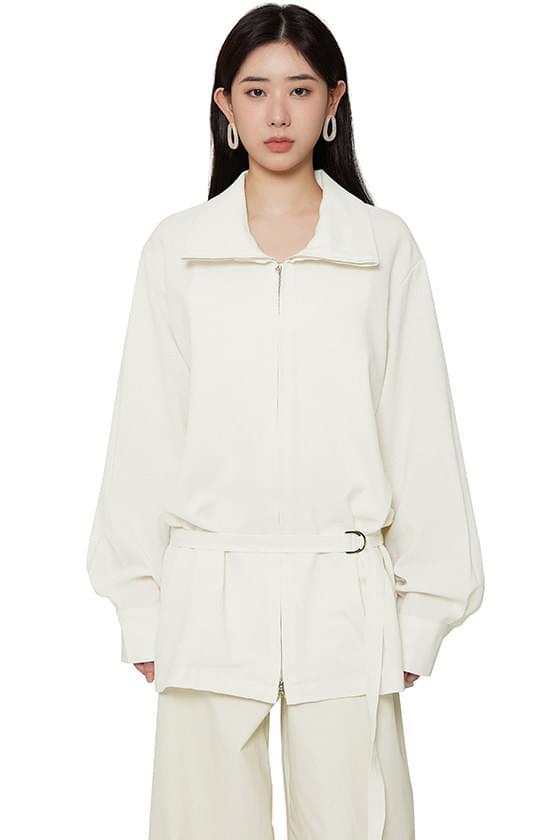 韓國空運 - Summer low belted jacket 夾克