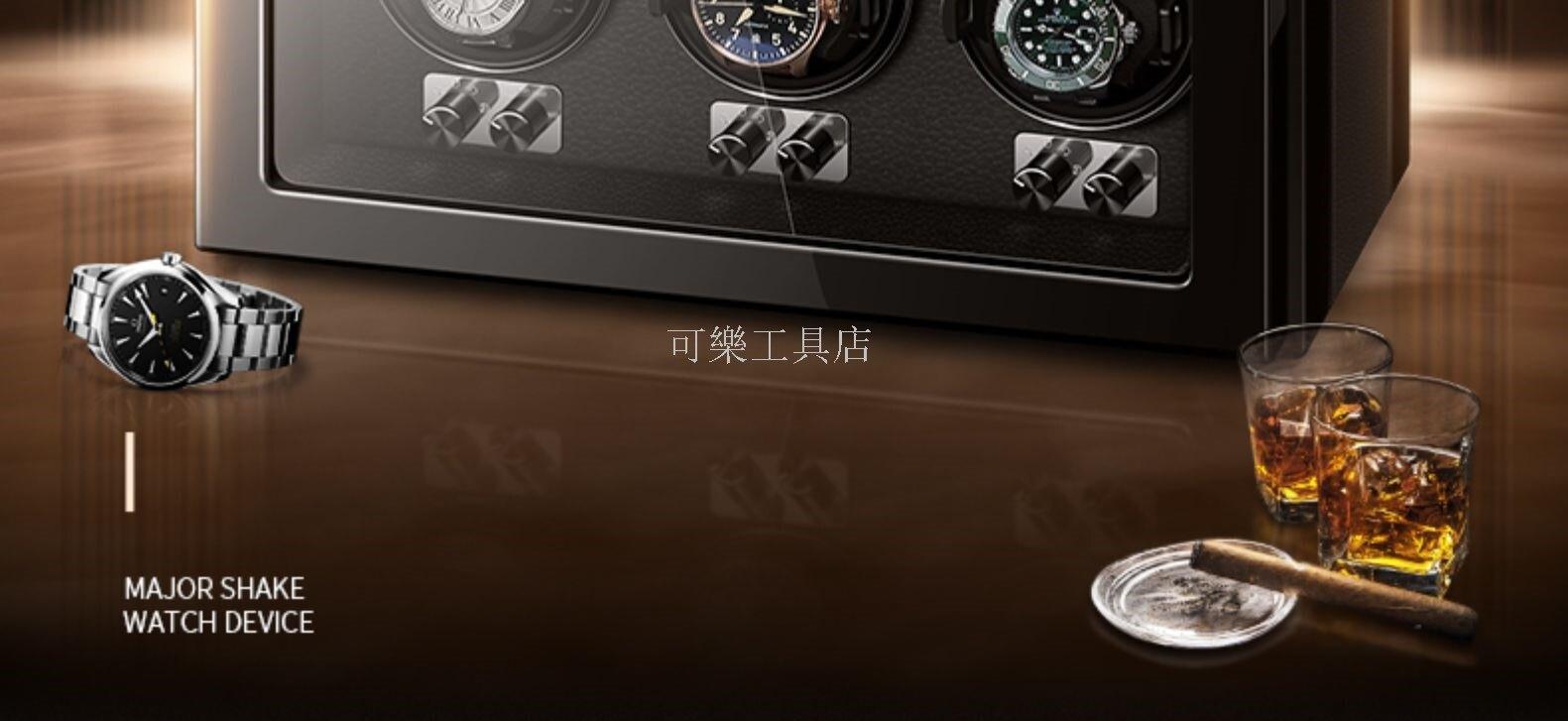 【免運】自動上鍊盒 轉錶盒 搖錶器 靜音上鍊盒 全自動搖錶器 機械錶 靜風尚搖表器機械表自動手表盒搖擺器晃表器轉表器轉動放置器家