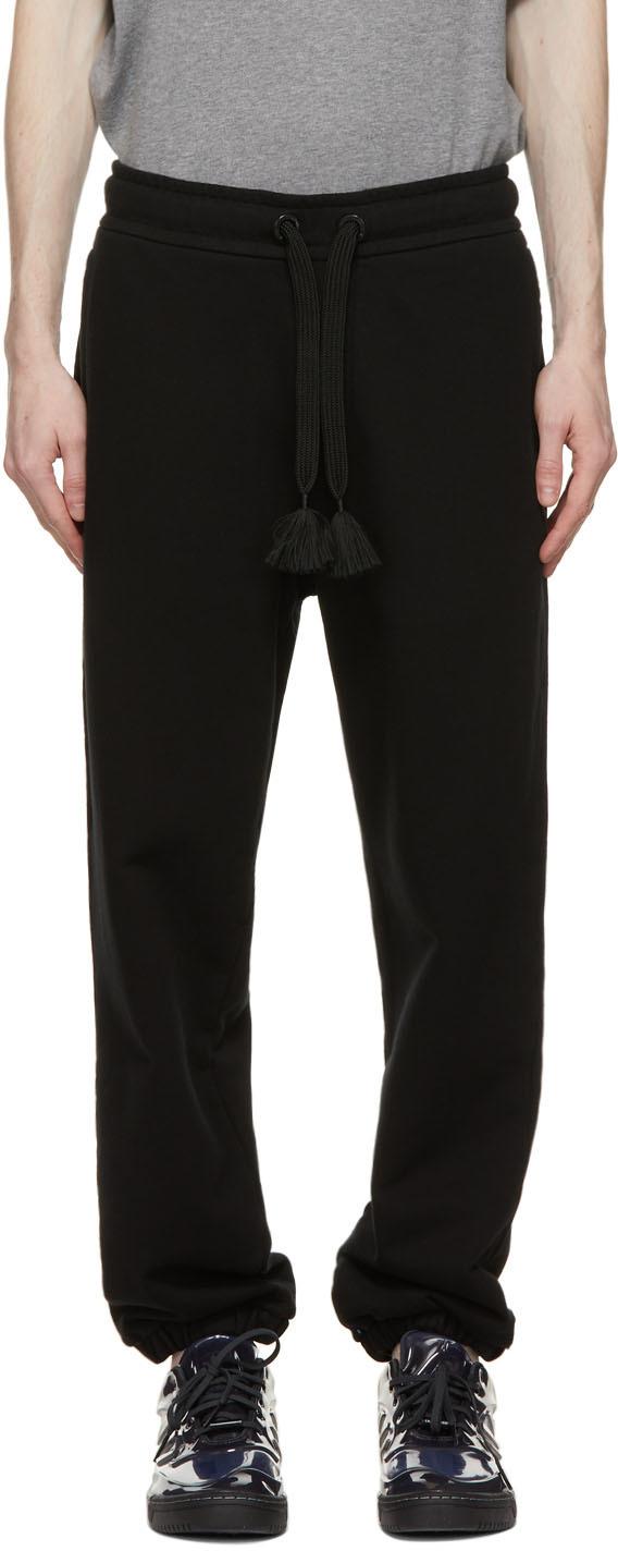 Moncler Genius 黑色 5 Moncler Craig Green 系列抽绳运动裤
