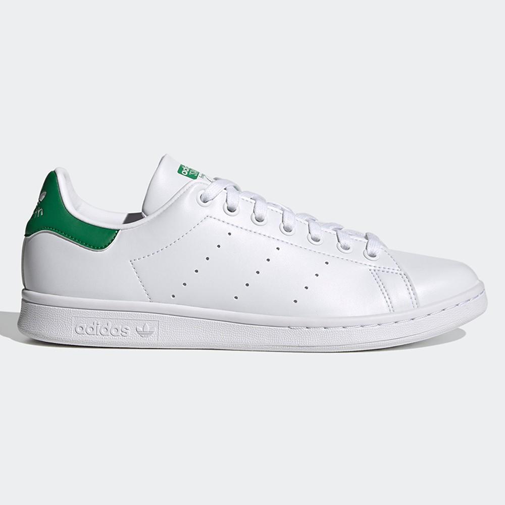 ADIDAS STAN SMITH 男鞋 休閒 史密斯 綠標 經典 復刻 白 綠【運動世界】FX5502