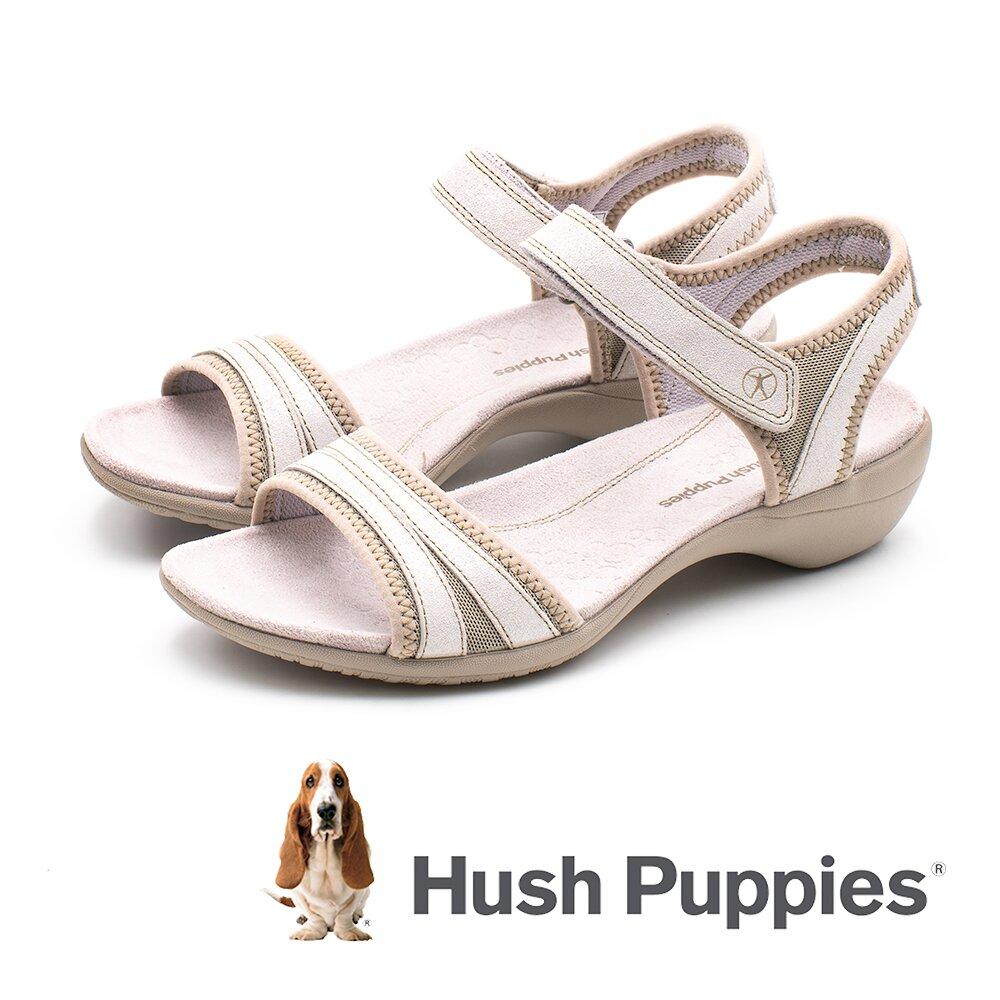 Hush Puppies (女)ATHOS機能涼鞋 -香檳金