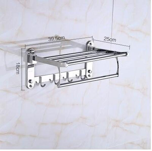 浴室毛巾架不銹鋼浴巾架淋浴房衛浴五金挂件 主圖款*(40CM)