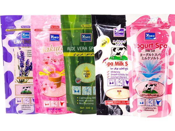 YOKO~香氛磨砂泡浴鹽(SPA精油乾式袋裝)300g 款式可選【D600459】沐浴鹽
