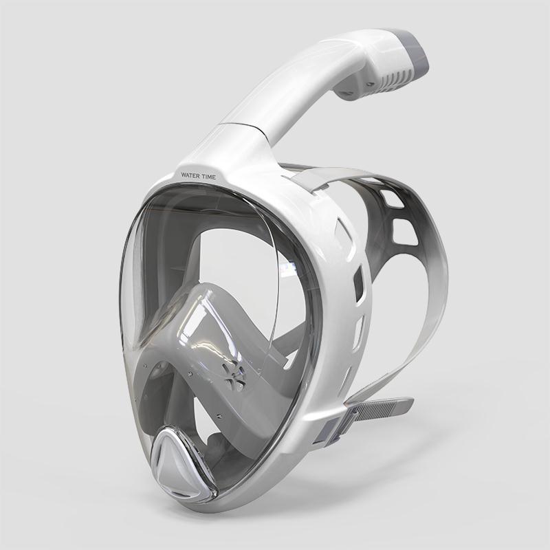 游泳面罩 浮潛三寶面罩潛水裝備全干式呼吸管潛水鏡游泳成人全臉面具T