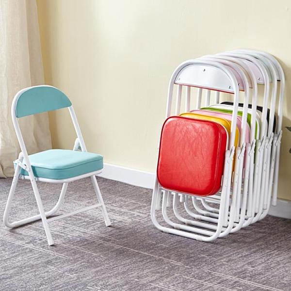 兒童椅可折疊寶寶靠背椅凳子大童加厚幼兒園餐椅小學生矮椅母子椅 探索先鋒