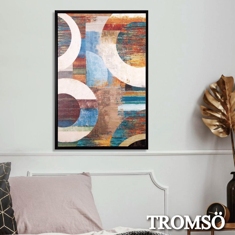 TROMSO北歐時代風尚有框畫-碧瓊百環WA177
