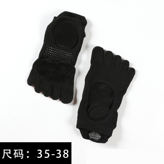 瑜伽襪 toesox專業瑜伽襪子女五指防滑室內空中瑜伽襪運動露趾普拉提夏季【MJ12120】