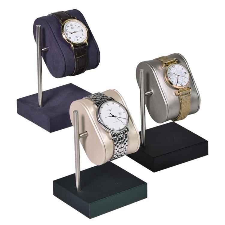 今仕爵手錶展示道具超纖皮革手錶架托情侶款手錶陳列座子家用收納