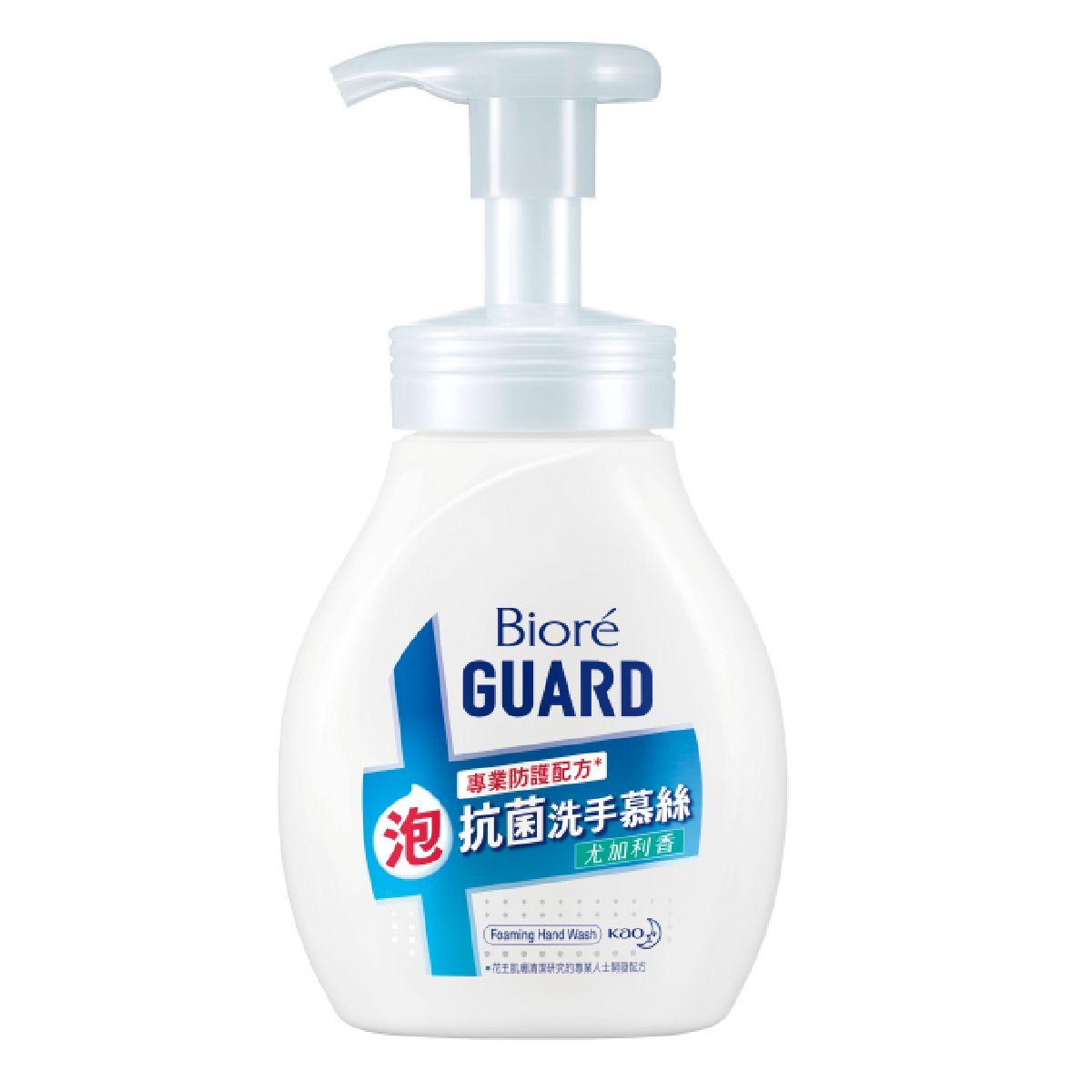 BioreGUARD抗菌洗手慕絲尤加利香250ML