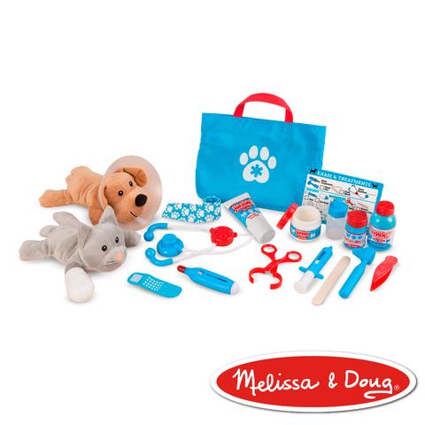 美國瑪莉莎 Melissa & Doug 角色扮演 - 寵物診所治療遊戲組