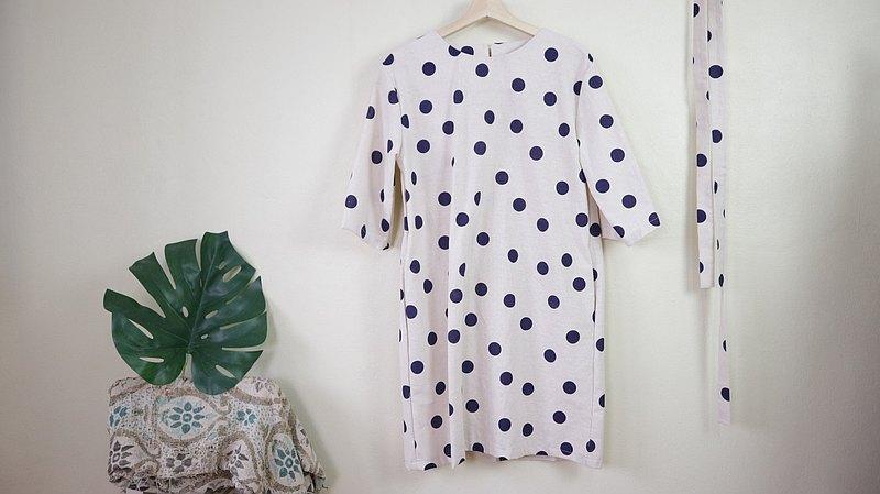 Mainichi Miru連衣裙(圓點)