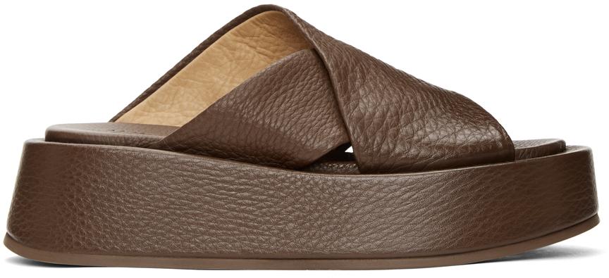 Marsèll 棕色 Piattaforma 凉鞋