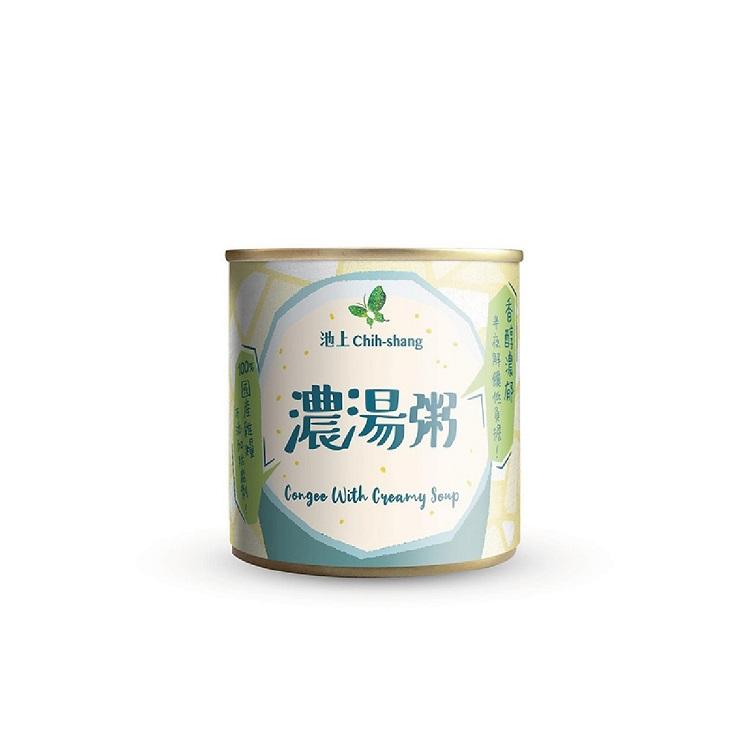 【池上鄉農會】松葉食品 台東池上即食粥-濃湯粥 台灣製造