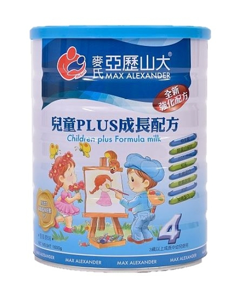 安博氏 麥氏 亞歷山大3-12歲兒童強化奶粉(1600公克/罐) 羊奶添加