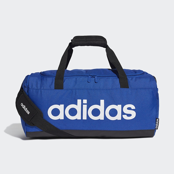 Adidas LOGO 藍色大容量運動健身包-NO.GE1149