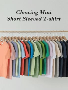 韓國空運 - Chewing Mini Short-sleeved T-shirt 短袖上衣