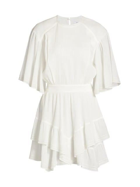 Layne Ruffle Hem Dress