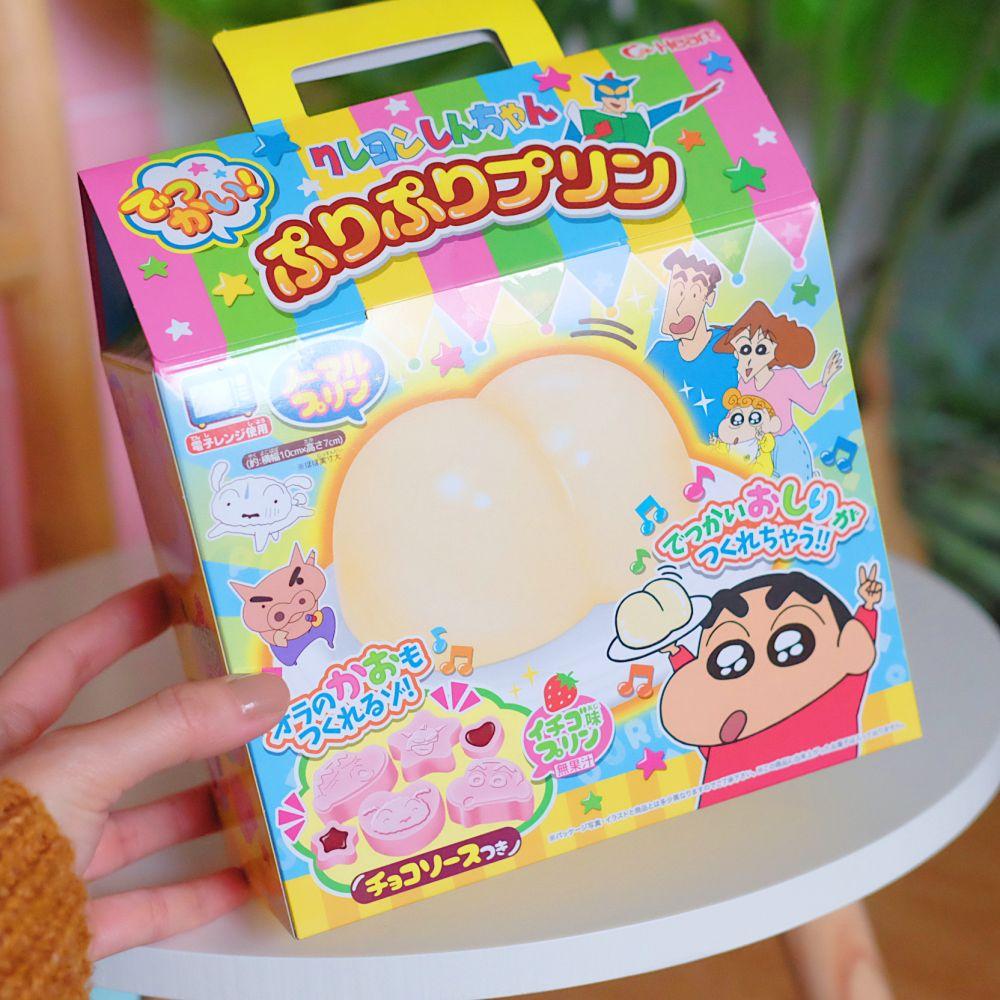 《蠟筆小新》日本商品 DIY小新屁屁布丁禮盒 食玩 伴手禮 春節 收藏 BURIBURI