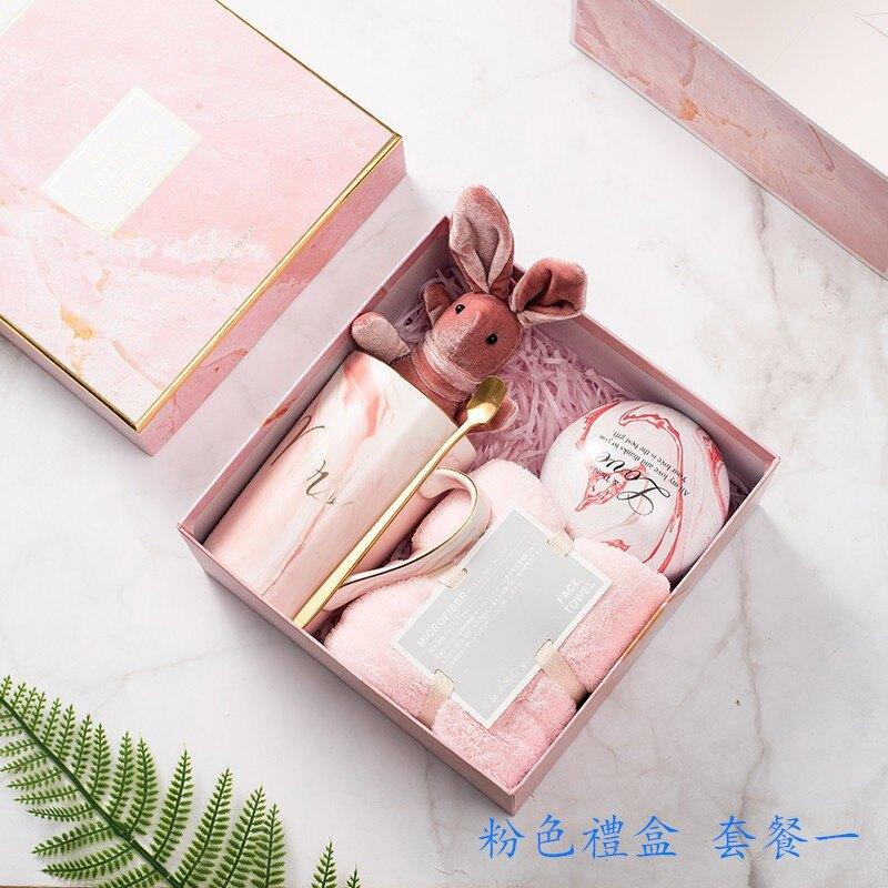 熱銷新品 優質實拍 生日禮物 馬克杯禮盒 伴手禮  回禮 送閨蜜生日禮物 伴手禮禮盒 婚禮回禮 婚禮小物禮盒