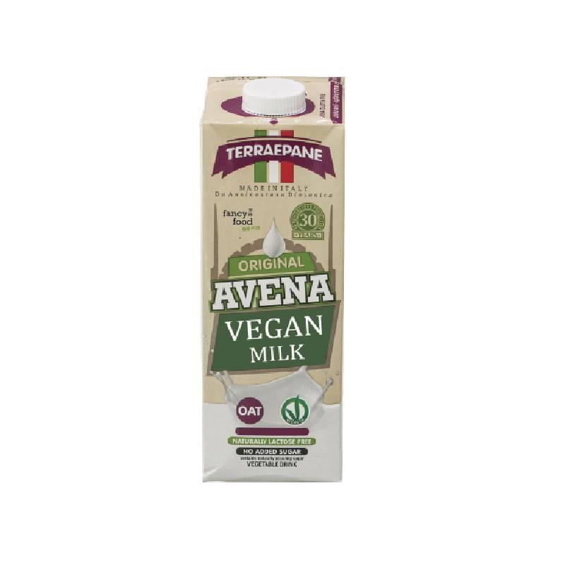 [Terra e pane] 經典系列無加糖植物奶 (1000ml/瓶) (全素) 燕麥奶